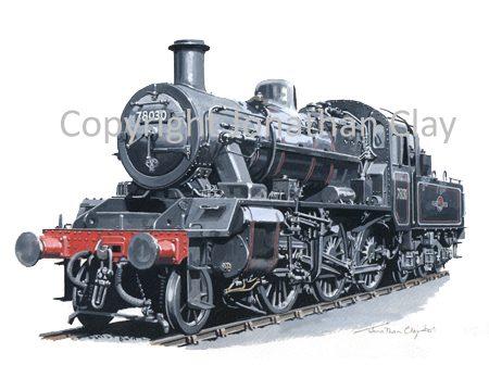 788 BR Standard Class 2 2-6-0 No. 78030