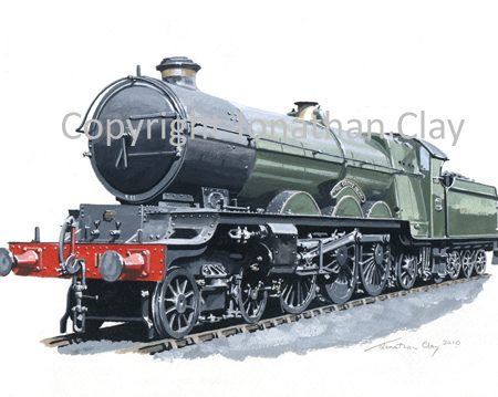 803 GWR 4-6-2 No.111 The Great Bear