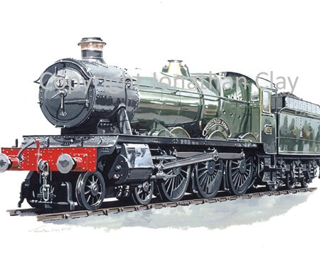 820 GWR Hall 4-6-0 No.4953 Pitchford Hall (BR Green)