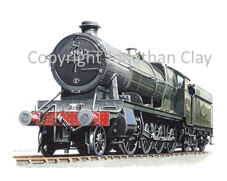 828 GWR 47xx Class 2-8-0 No. 4704 (BR Green)
