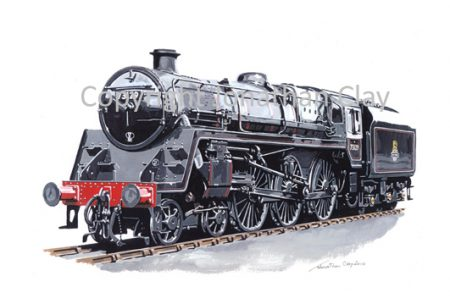 830 BR Standard Class 5 No.73129