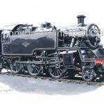 831 BR Standard Class 3 2-6-2T No.82001 (Black)