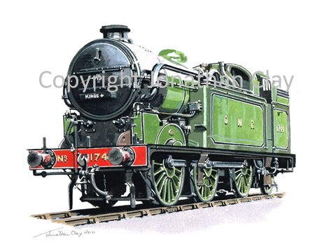 844 GNR Class N2 0-6-2T No.1744
