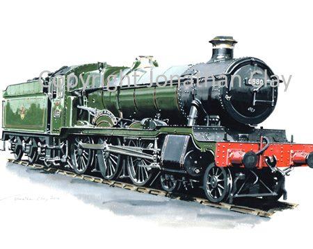 854 GWR Grange Class 4-6-0 No.6880 Betton Grange (BR Green)