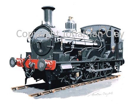 872 Ex LSWR Beattie Well Tank 2-4-0T No. 30585