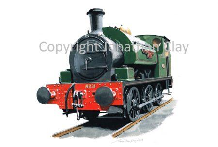 875 Hudswell Clarke 0-6-0St 'Sir Robert McAlpine No.31'