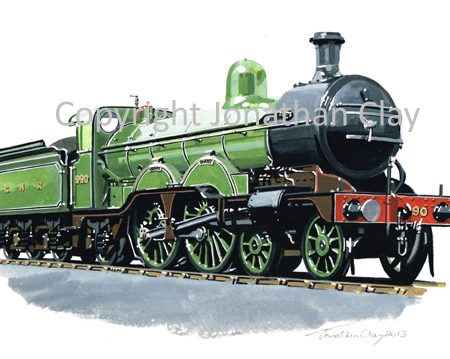 878 GNR Atlantic 4-4-2 No.990 'Henry Oakley'