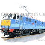 881 Class 86 Electric No.E3137 'Les Ross' (Electric Blue)