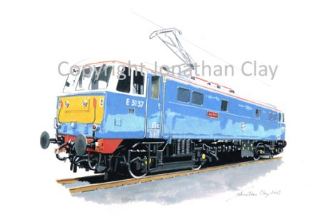 881 Class 86 Electric No.E3137 'Les Ross' (Electric Blue)