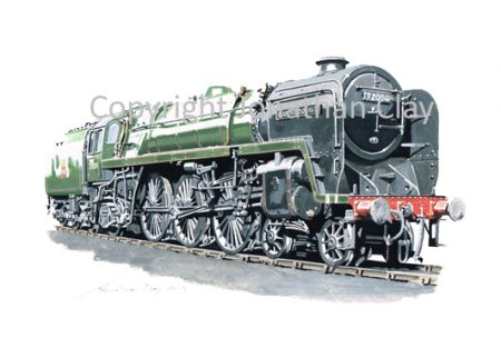 883 BR Standard Class 6 No. 72004 Clan Macdonald