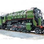 886 SNCB Class 29 2-8-0 No.29.013