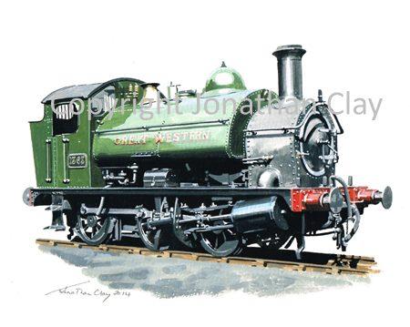887 GWR 13XX 0-6-0ST No.1363 (GWR Green)
