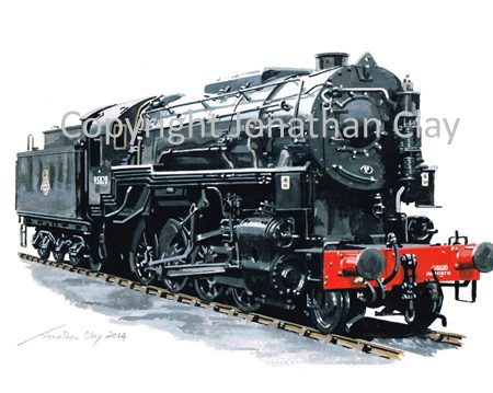 888 USAC Lima Class S160 2-8-0 No.5820 (KWVR)