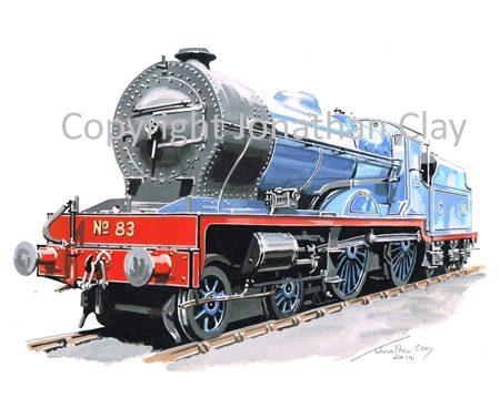 895 GNR(I) Class V 4-4-0 No.83 'Eagle'