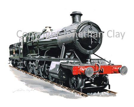 897 GWR 28XX 2-8-0 No.3850 (BR Black) ref 897