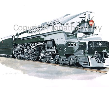 903 Pennsylvania Railroad T1 No.5550