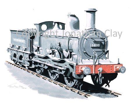913 Ex Midland Railway Kirtley 0-6-0 No.58110