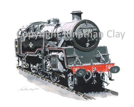 920 BR Standard Class 4 2-6-4T No.80151