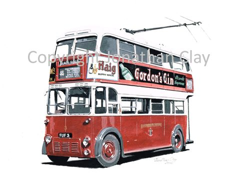 1844 Brighton Trolleybus