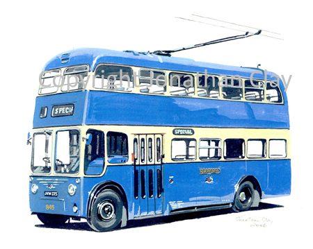 1852 Bradford Trolley