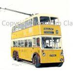 1855 Newcastle Trolleybus 501