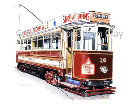 1857 Gateshead Tramcar 10
