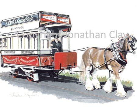1862 Manchester Horse Tram No. L53
