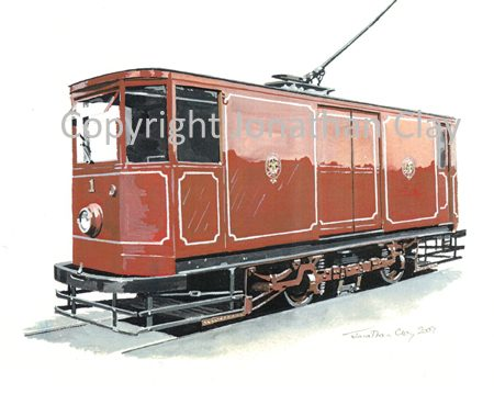 1864 Blackpool Works Tram No.1