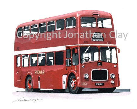 1870 Ribble Leyland PD3