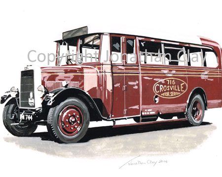 1882 Crosville Leyland Cub 716