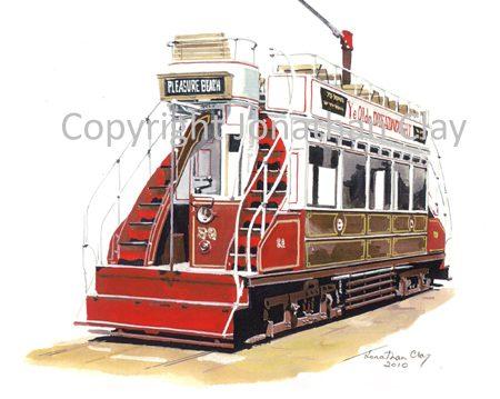 1887 Blackpool Dreadnought Car No.59