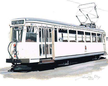 1888 Charleroi Tram - SNCV