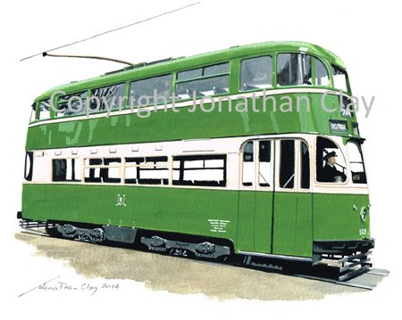 1891 Liverpool Green Goddess 869