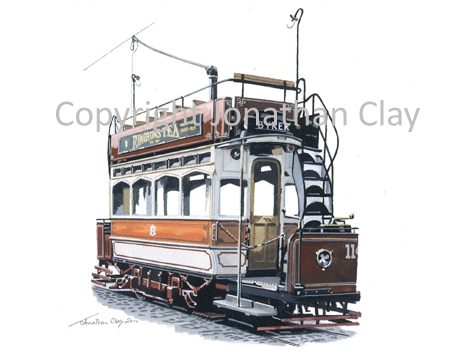 1893 Newcastle Tramcar 114