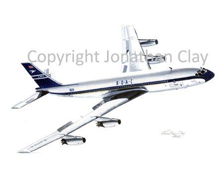 A002 BOAC Boeing 707