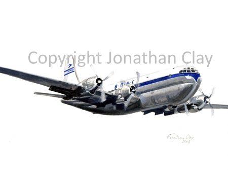 A003 BOAC Boeing Stratocruiser
