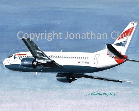 A004 BA (GB Airways) Boeing 737-300