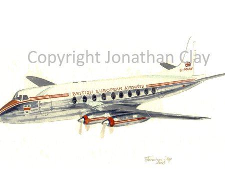 A005 Plane Viscount