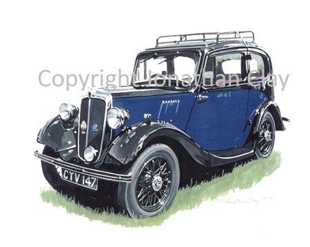 CAR001 1936 Morris 8