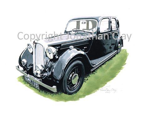 CAR002 1936 Rover 24 (P2)