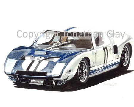 CAR003 1964Ford GT Prototype