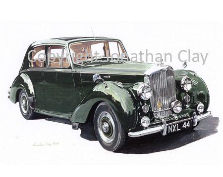 CAR007 Bentley R Type 1956