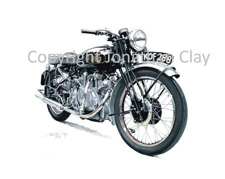 MB002 1949 Vincent Rapide Series B
