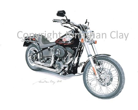 MB004 Harley Davidson FLXB Nitrate
