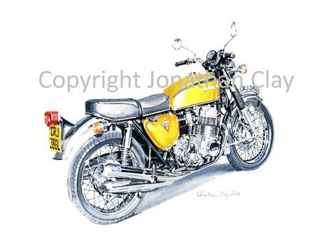 MB005 Honda CB750K2