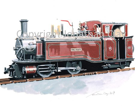 154 Single Fairlie 0-4-4T Taliesin