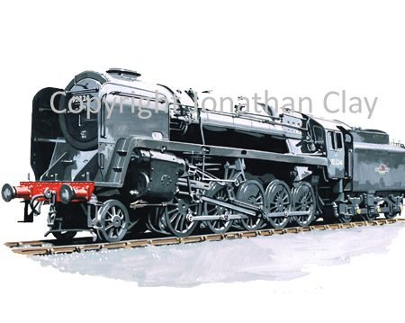944 BR Standard Class 9F 2-10-0 No.92224