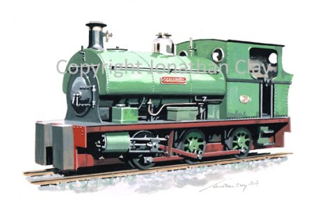 418 Lamport Ironstone Co. Peckett 0-6-0ST No.1316 'Scaldwell'