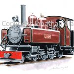 419 Ashover Light Railway Baldwin 4-6-0T 'Joan'