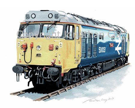 948 BR Class 50 No.50 003 'Temeraire'